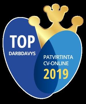 Top Darbdaviai 2019