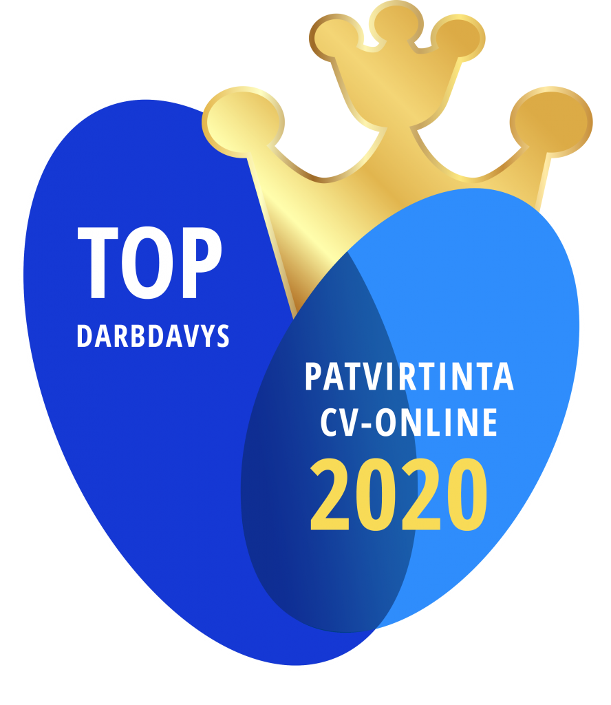 Registrų centras TOP CV online darbdavys